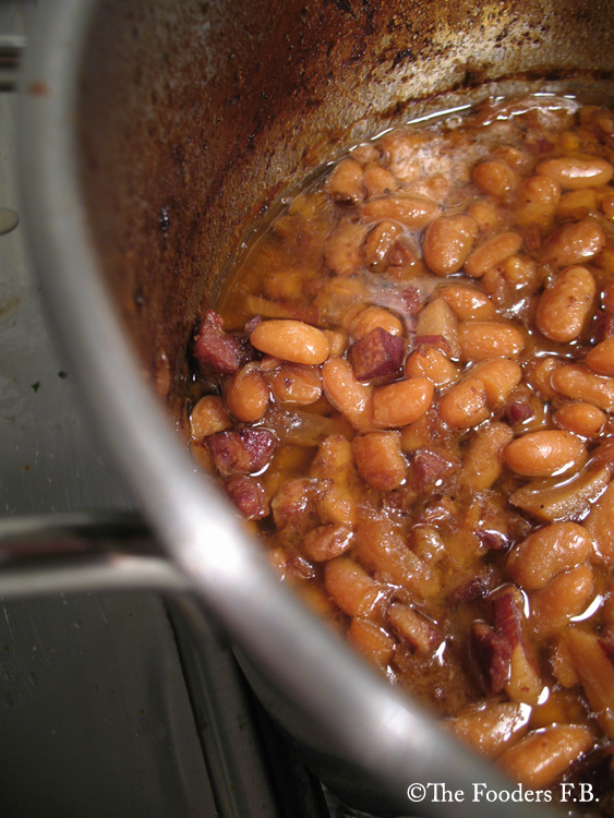Boston baked beans by the fooders