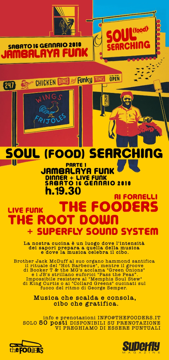soul food searching: Jambalaya funk